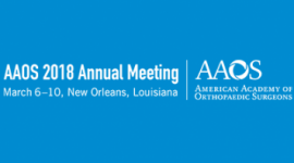 AAOS 2018 Annual Meeting