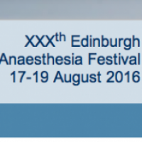 Edinburgh Anaesthesia Festival 2016