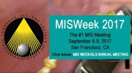 Minimally Invasive Surgery Week and SLS Annual Meeting