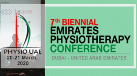 Physiodubai 2020 - 7th Emirates Physiotherapy Conference