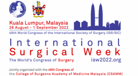 The International Surgical Week (ISW) 2022