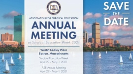 Virtual Association for Surgical Education Annual Meeting 2021