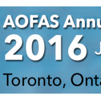 AOFAS Annual Meeting 2016