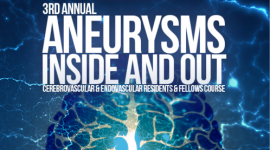 3rd Annual Aneurysms Inside and Out: Cerebrovascular&Endovascular Residents&Fellows Course