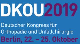 DKOU 2019 - Deutscher Kongress für Orthopädie und Unfallchirurgie