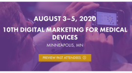 10th Digital Marketing for Medical Devices