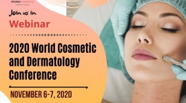 Live Webinar on 2020 World Cosmetic & Dermatology Conference