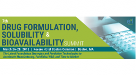 7th Drug Formulation, Solubility & Bioavailability