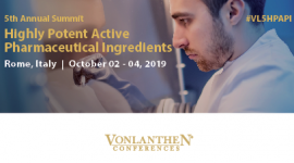 5th Annual Highly Potent Active Pharmaceutical Ingredients Summit