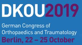 DKOU 2019 - German Congress of Orthopaedics and Traumatology