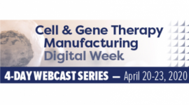 Cell & Gene Therapy Manufacturing Digital Week 2020