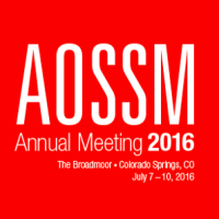 AOSSM 2016 Annual Meeting