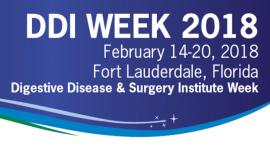 DDI Week 2018. Digestive Disease & Surgery Institute Week