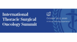 AATS International Thoracic Surgical Oncology Summit Virtual