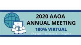 AAOA Annual Meeting 2020 - Virtual