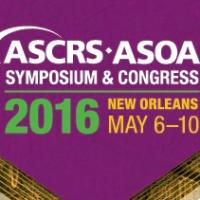 ASCRS•ASOA Annual Symposium & Congress 2016