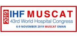 IHF 2019 - 43rd World Hospital Congress