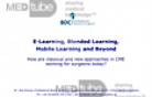 E-Learning, Blended Learning, Mobile Learning and Beyond